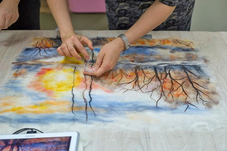 Необычные картины: шерстяная акварель, рисунки карандашом и уроки рисования
