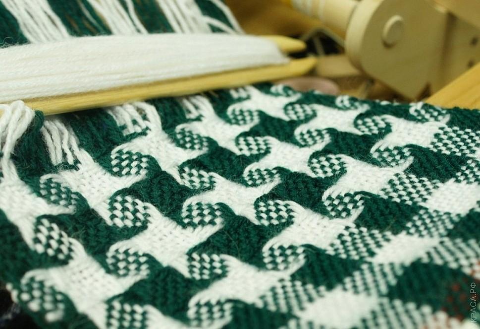 Как ткать узор на ткацком станке