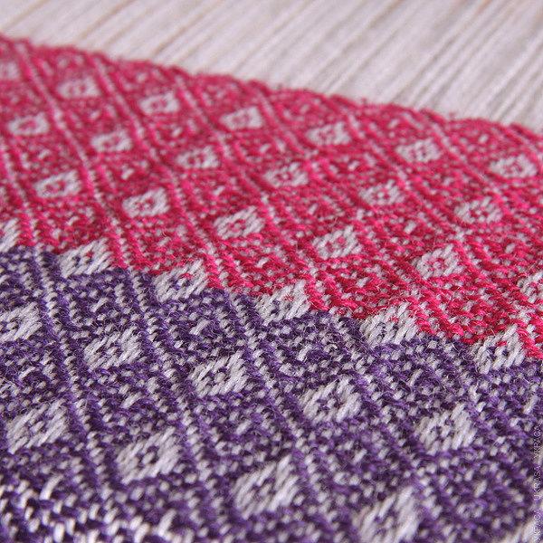 Ремизное ткачество с Ashford